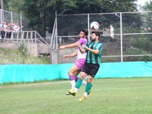 Gebzespor-Kocaelispor hazırlık maçından kareler