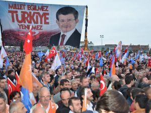 Başbakan Ahmet Davutoğlu Gebze Mitinginden Geriye Kalanlar