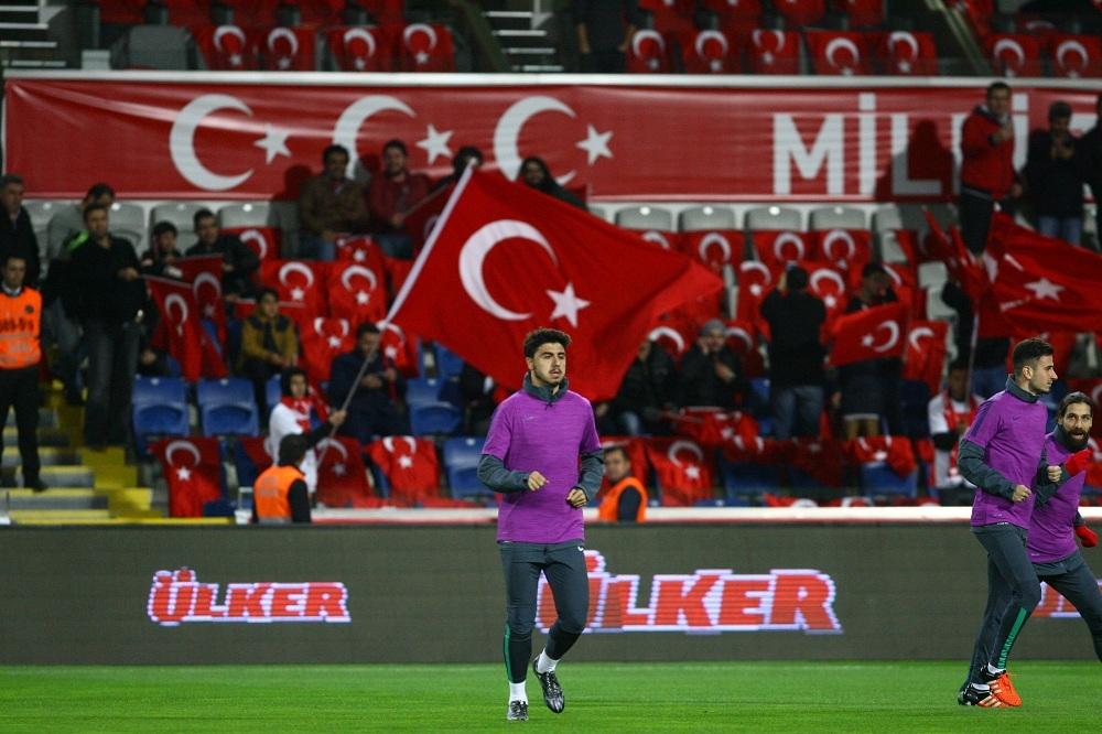 Türkiye-Yunanistan Milli Maçından Kareler galerisi resim 1