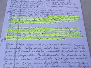İşte Kürşat Yılmaz'ın kendi elinden yazdığı mektuplar..
