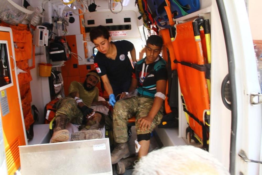 Yaralananlar Türkiye'ye getirildi galerisi resim 1