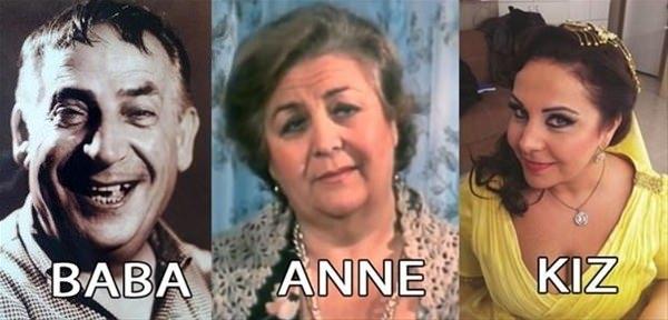 Ünlü oyuncuların ünlü baba ve anneleri galerisi resim 3