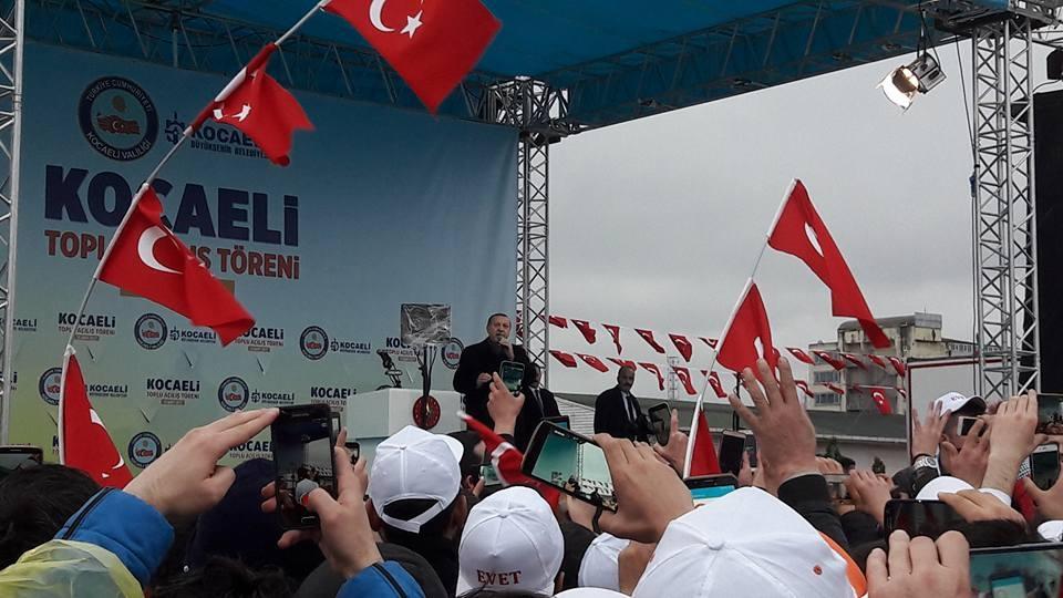 Cumhurbaşkanı Erdoğan'dan tarihi miting! galerisi resim 1