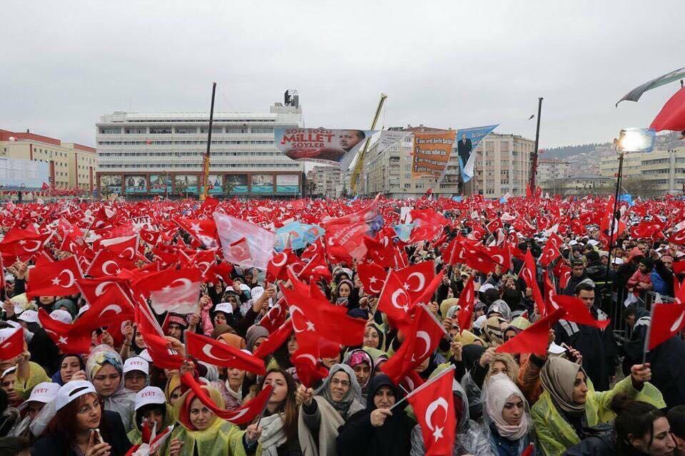 Cumhurbaşkanı Erdoğan'dan tarihi miting! galerisi resim 17