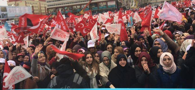 Cumhurbaşkanı Erdoğan'dan tarihi miting!