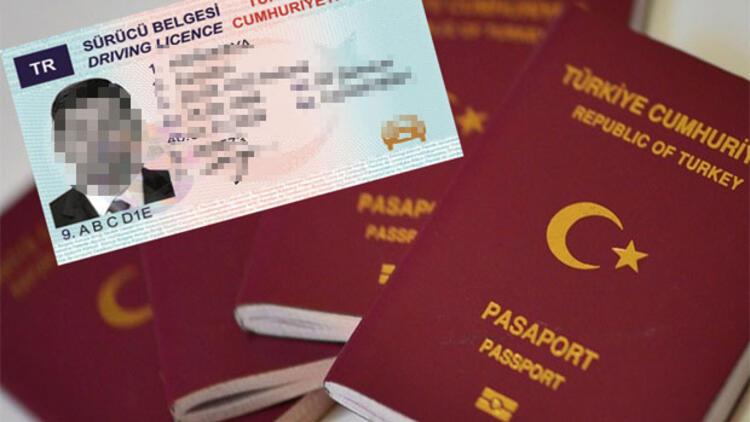 Ehliyet ve pasaporta yeni yıl zammı!