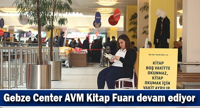 Gebze Center AVM Kitap Fuarı devam ediyor
