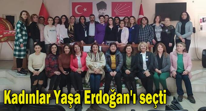 Kadınlar, Yaşa Erdoğan'ı seçti