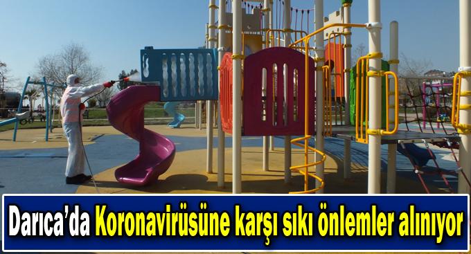 Darıca'da vatandaşların sağlığı için çalışmalar sürüyor