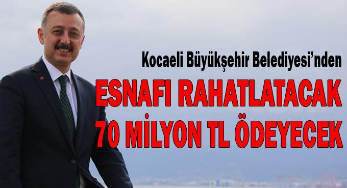Büyükakın duyurdu! 70 milyon TL ödenecek