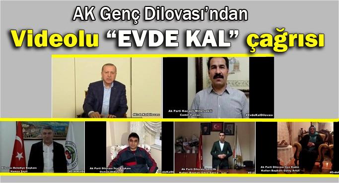 """AK Genç Dilovası'ndan videolu """"Evde kal"""" çağrısı"""