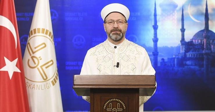 Erbaş'tan 'bayram namazı' açıklaması