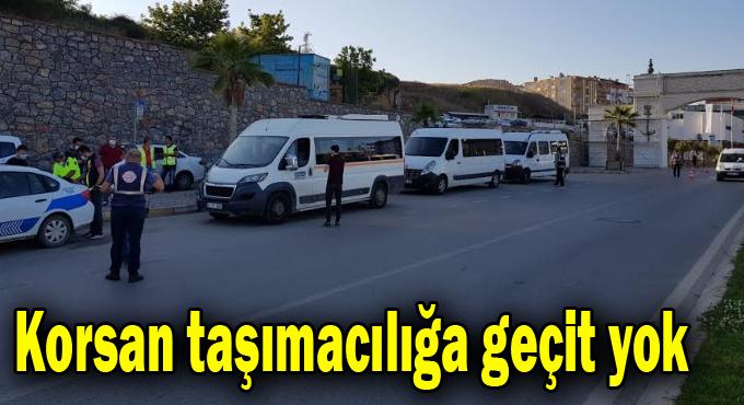 Darıca ve Çayırova'da korsan taşımacılığa geçit yok