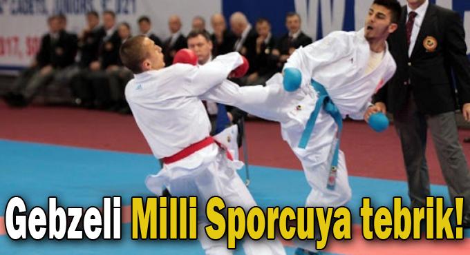 Gebzeli Milli Sporcuya tebrik!