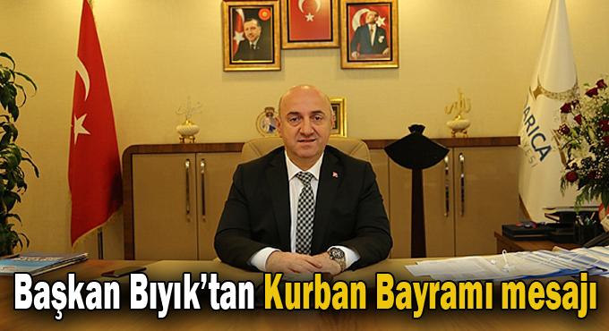 Başkan Bıyık'tan Kurban Bayramı mesajı