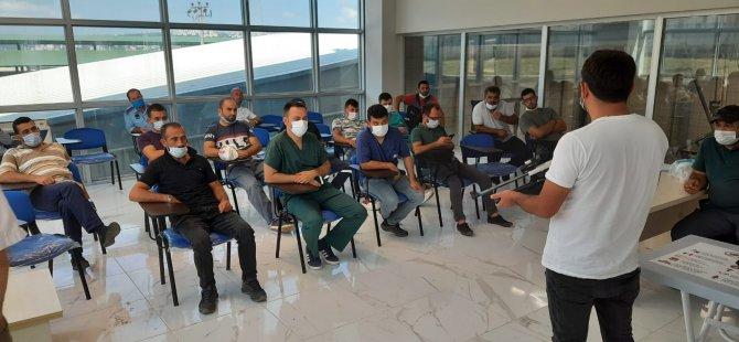 Kurban timlerine Büyükşehir'den eğitim