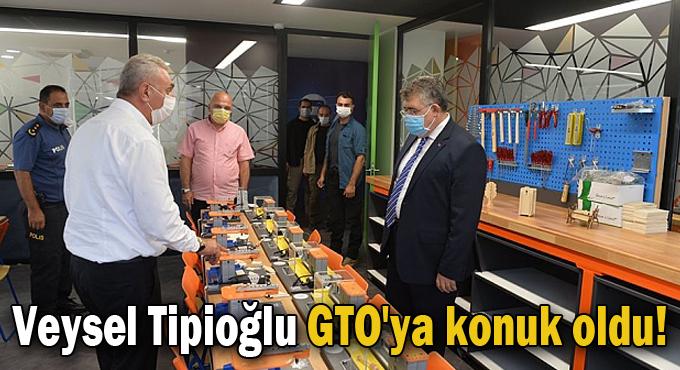Veysel Tipioğlu GTO'ya konuk oldu!