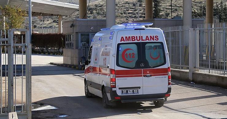 Türk Kızılay aracına saldırı: 1 şehit, 1 yaralı