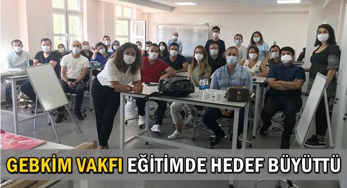 GEBKİM MTAL Avrupa sınavına hazırlanıyor