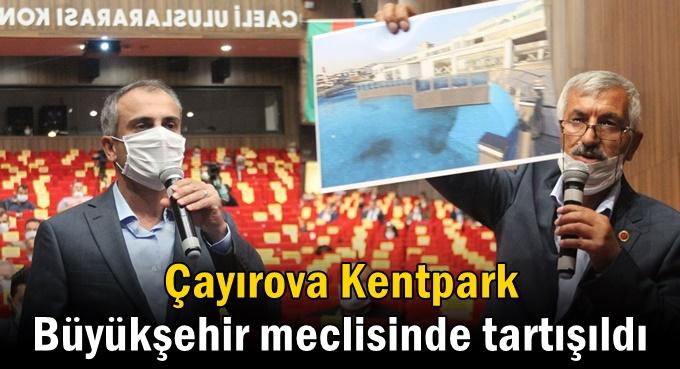 Çayırova Kent parkına verilen zarar 40 milyon TL