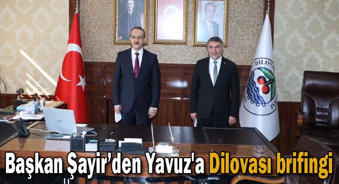 Başkan Şayir'den Vali Yavuz'a Dilovası brifingi