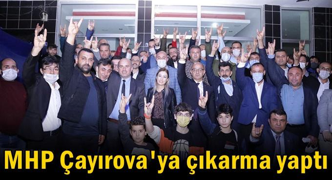 MHP Çayırova'ya çıkarma yaptı