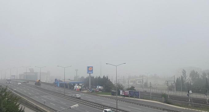 Kocaeli'de yoğun sis etkili oldu