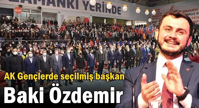 AK Gençlerde seçilmiş başkan Baki Özdemir