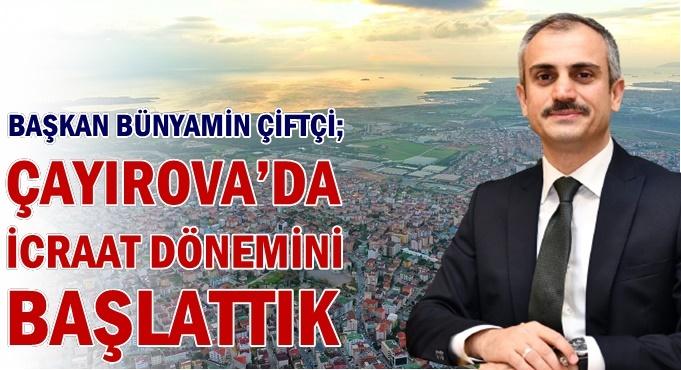 Çayırova'da projeler peş peşe hayat buluyor