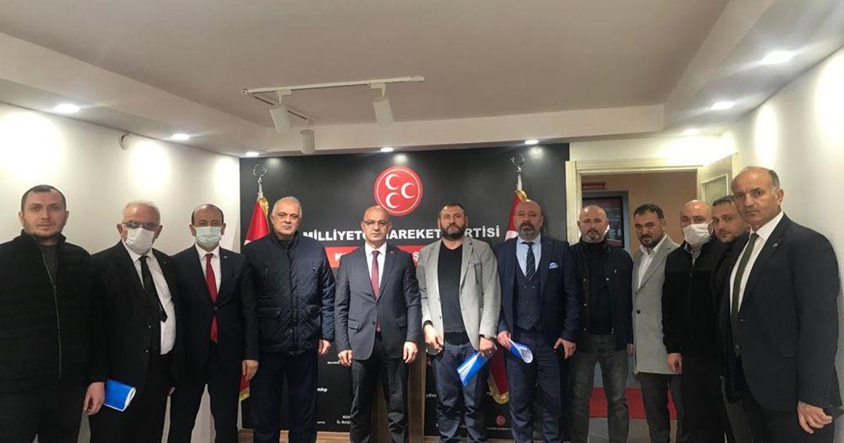 MHP Kocaeli Teşkilatı kurultay öncesi toplandı
