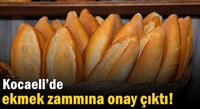 Kocaeli'de ekmek zammına onay çıktı!