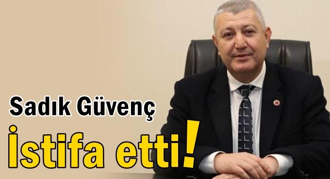 Sadık Güvenç, AK Parti'den istifa etti!