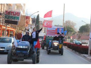 Traktörlü Seçim Konvoyu