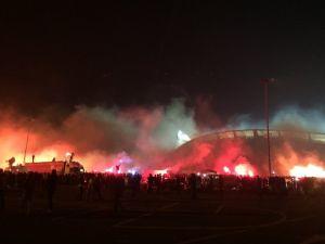 Beşiktaşlı Taraftarlardan 112. Yıl Dönümü Kutlaması