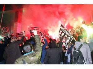 Van'da Beşiktaş Coşkusu