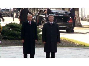Cumhurbaşkanı Erdoğan Kiev'de