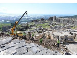Rhodiapolis'te Restorasyon Başladı