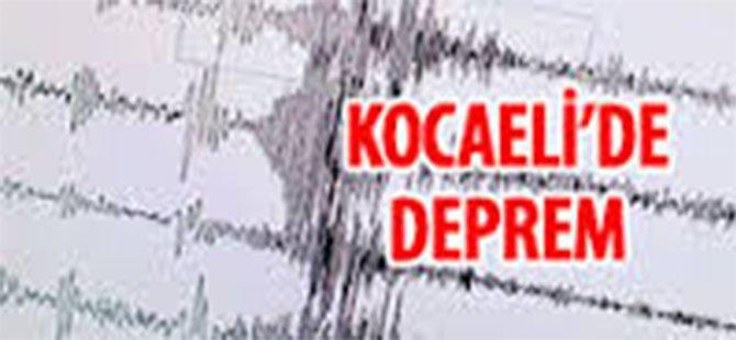 Kocaeli' de Deprem!