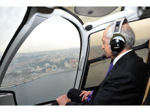 Havadan İzmir'i İzledi
