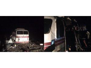 Yolcu Otobüsü Mayına Çarptı: 4 Ölü, 19 Yaralı