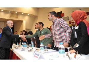 Kılıçdaroğlu Odtü'de Gençlerle Buluştu