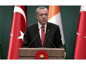 Erdoğan İran'a Yüklendi: Bir Taraftan Müslümanım Diyeceksin...