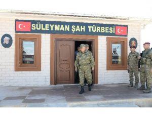 Genelkurmay Başkanı Süleyman Şah Karakolu'nu Ziyaret Etti