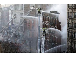 Abd'de Korkunç Yangın: 19 Yaralı