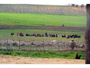 Sınırda Mülteci Yoğunluğu