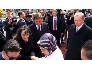 Cumhurbaşkanı Erdoğan Slovenya'da