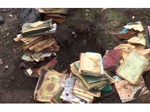Toprağa Gömülü Kuran-ı Kerim'ler Bulundu