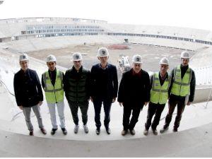 Hacıosmanoğlu Ve Yanal Yeni Stadı Gezdi