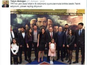 Başbakan Yardımcısı Akdoğan: ''Yüksek Reyting Diliyorum''