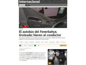 Saldırı İspanyol Basınında
